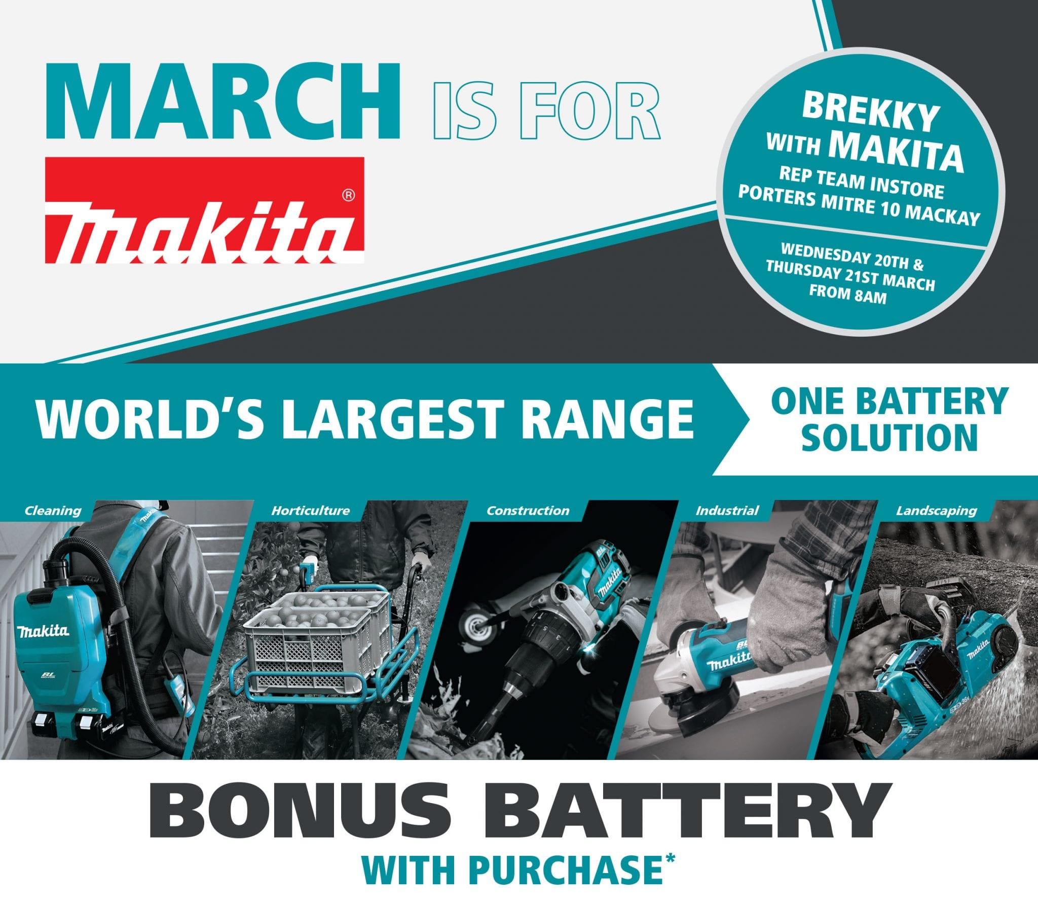 March Is For Makita